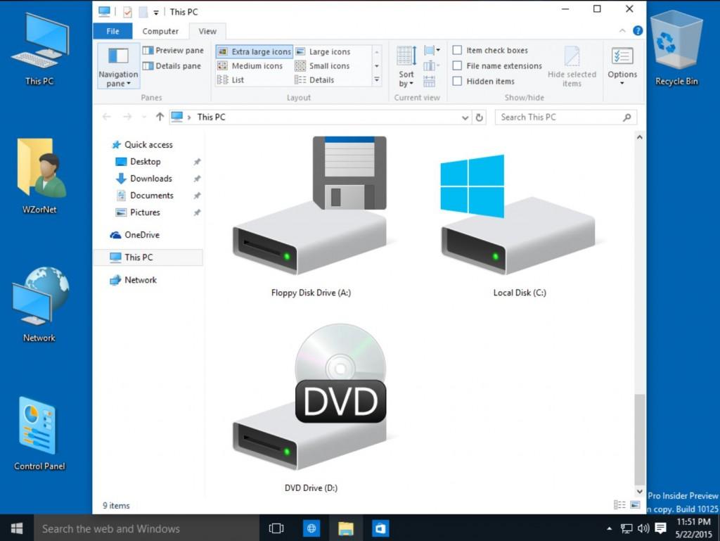 Windows 10 Build 10125 3