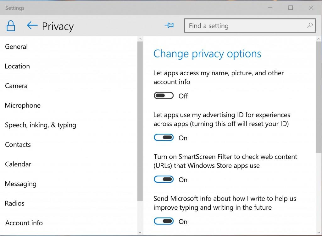 Windows 10 Toggle Button Design