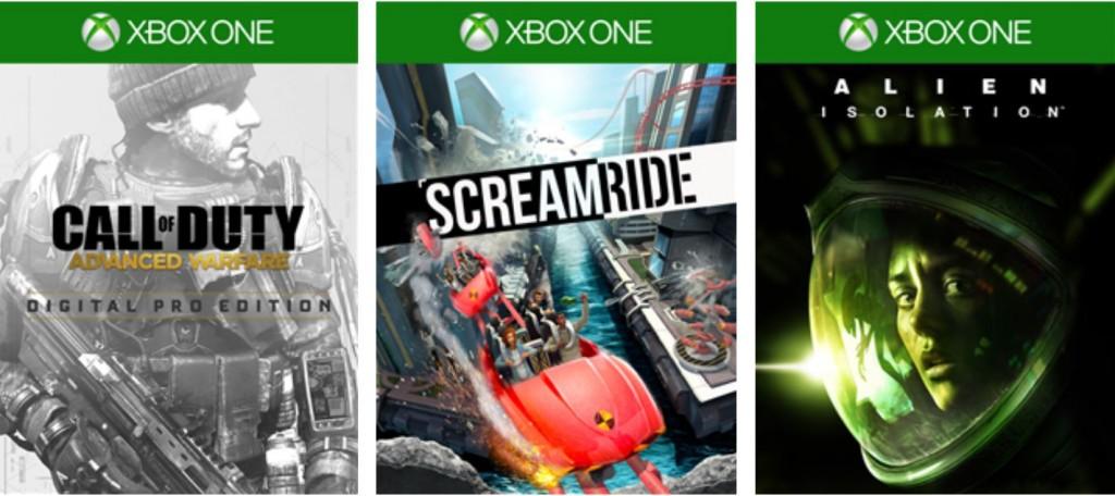 Xbox Live May last week deals