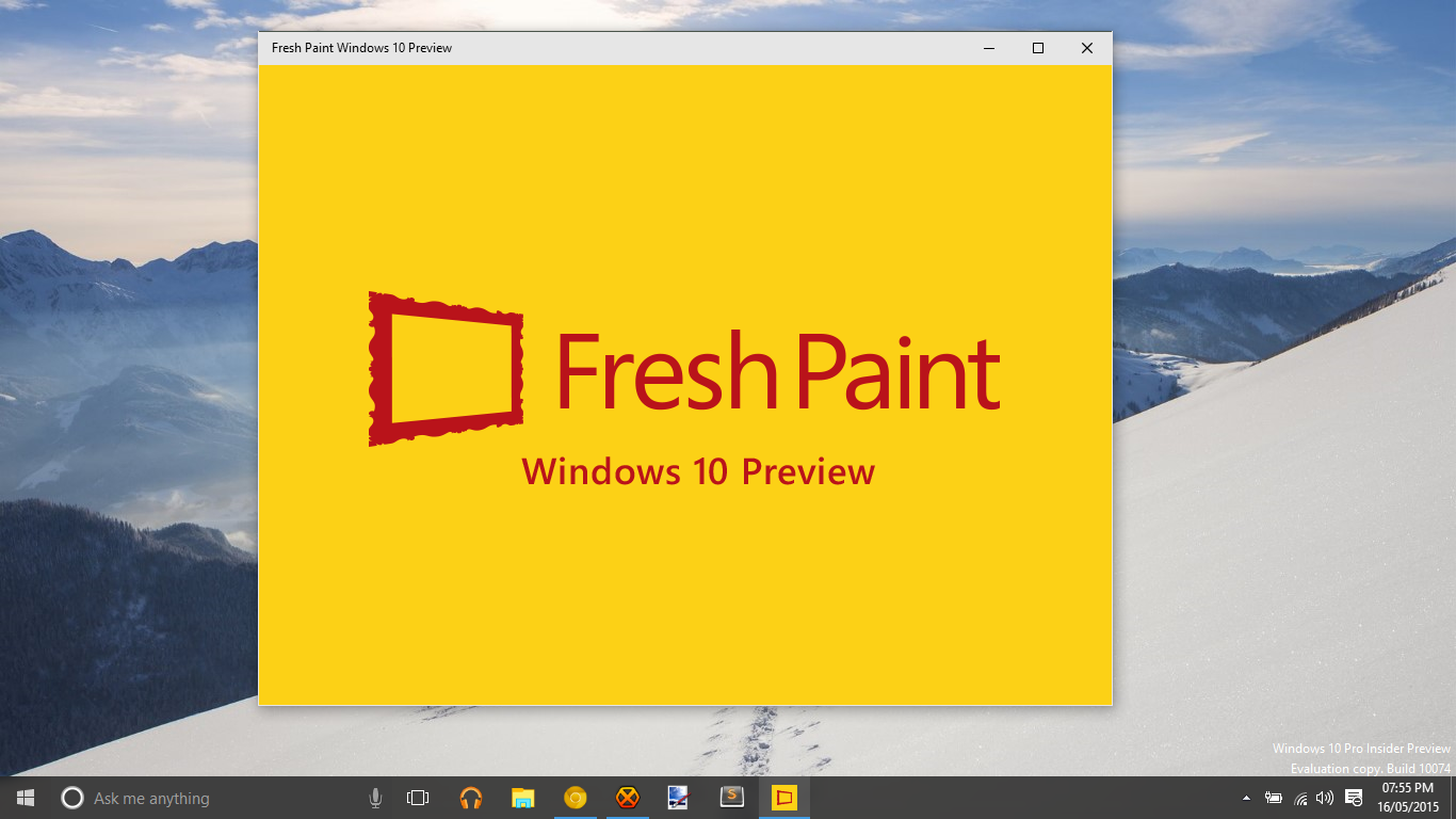 Microsoft launches Fresh Paint Preview for Windows 10 - MSPoweruser