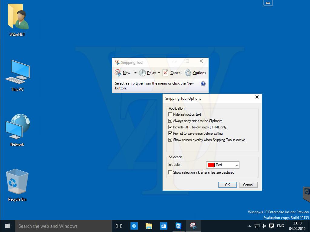snip tool for windows 10