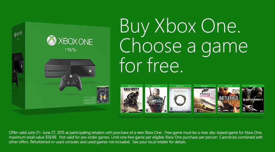 Xbox Free Game Deal
