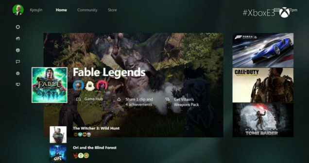 Xbox One New Dashboard 1