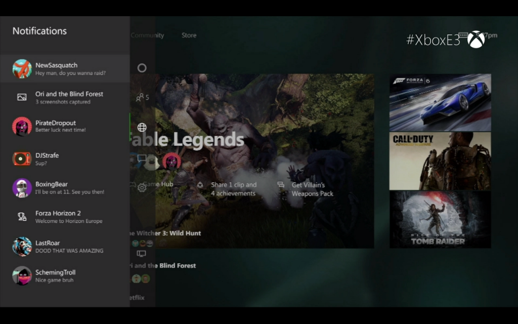 Xbox One New Dashboard 2