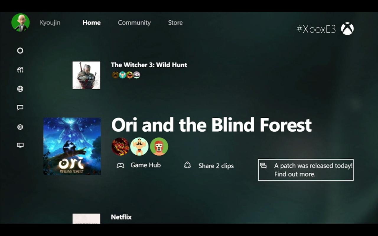 Xbox One New Dashboard 3