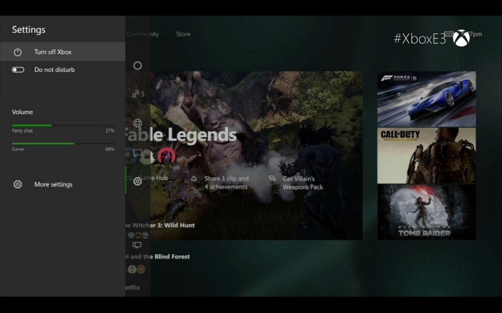 Xbox One New Dashboard 5