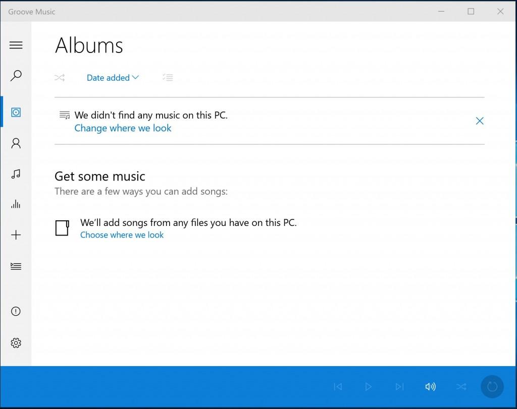 Groove Music Windows 10