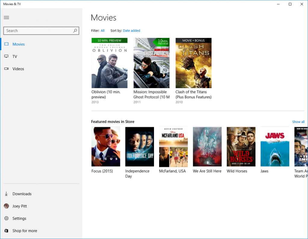 Tv приложение для windows 10 скачать