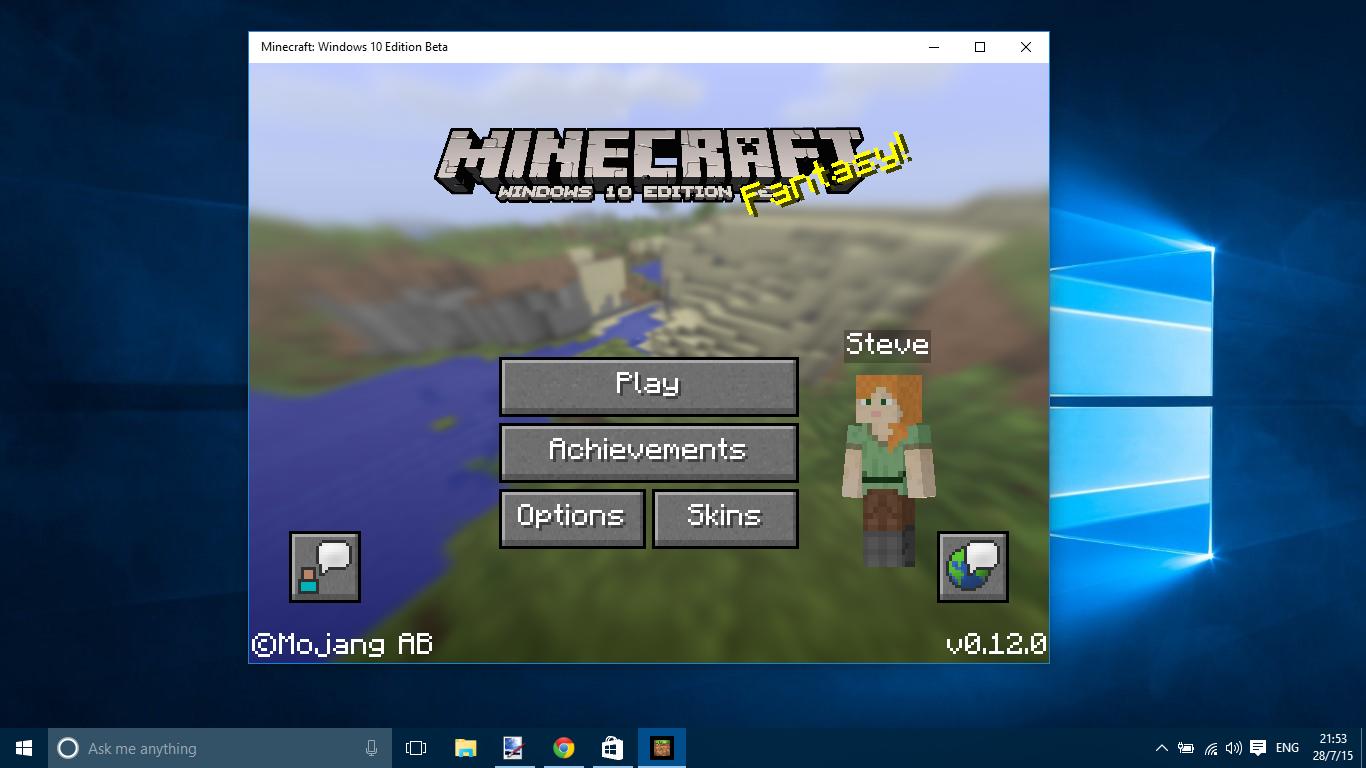 Mojang Starts Rolling Out Minecraft Windows Edition Beta - Minecraft beta spielen
