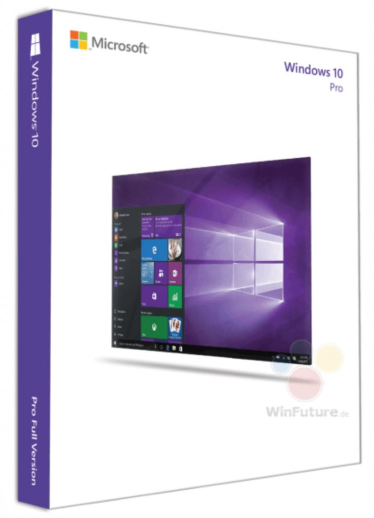 Windows 10 Box Art 1