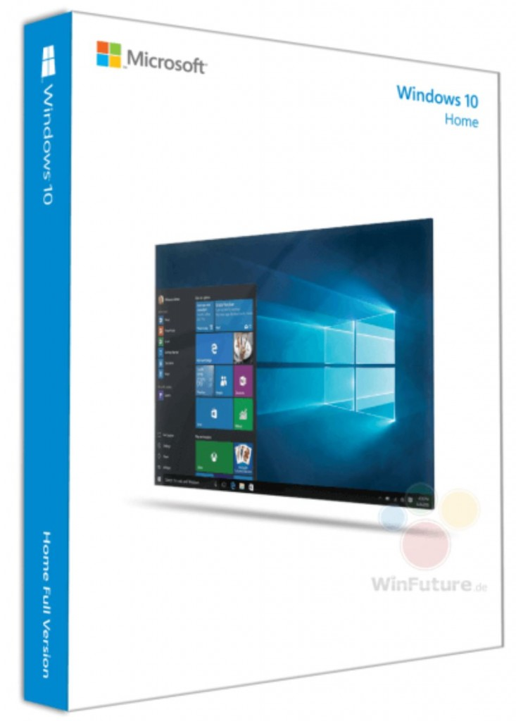 Windows 10 Box Art 3