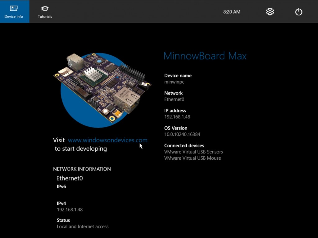 Windows 10 IoT RTM