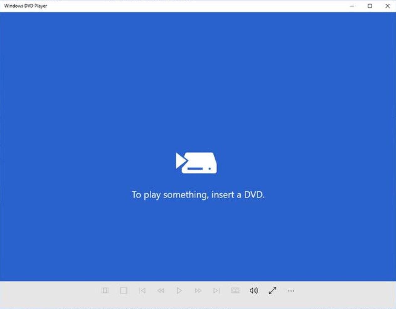 microsoft releases windows dvd player app for windows 10