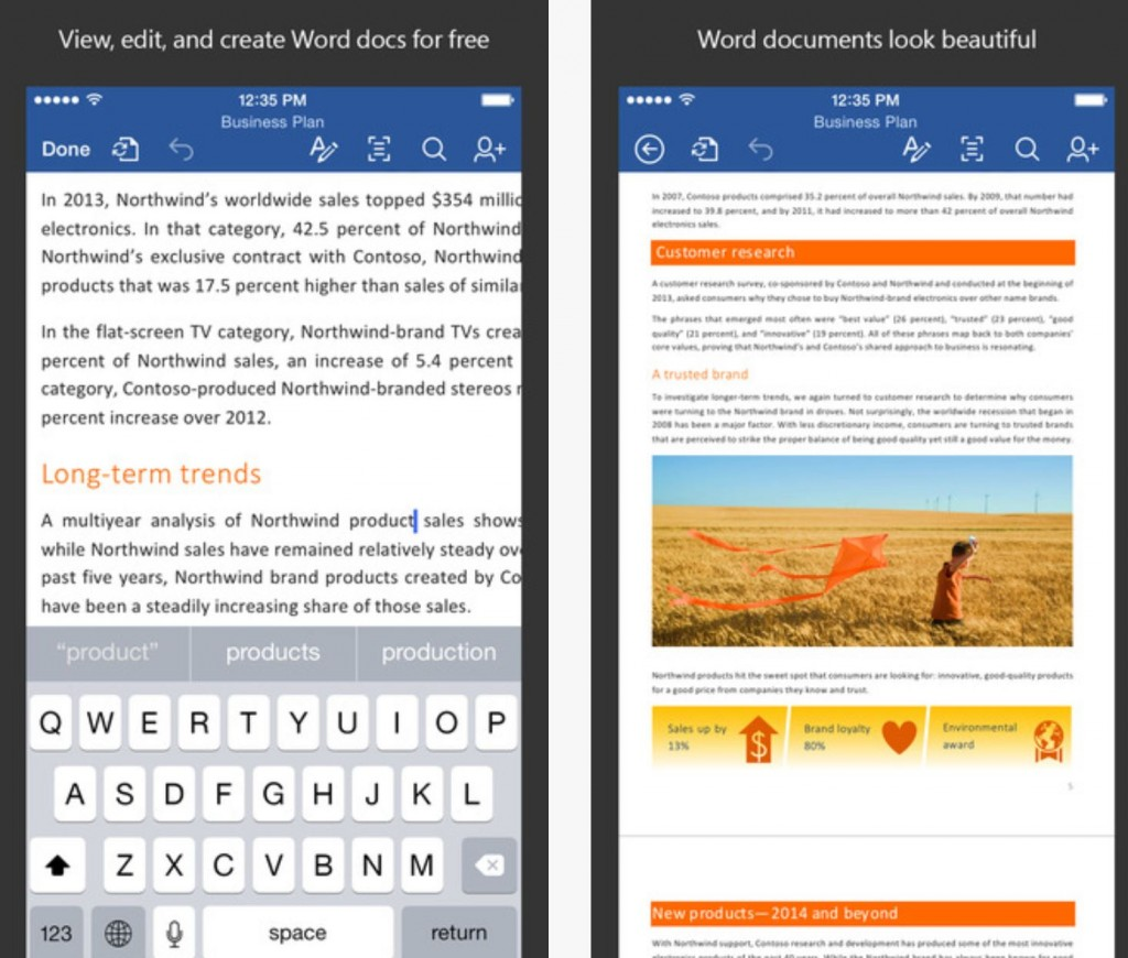 Word for iOS