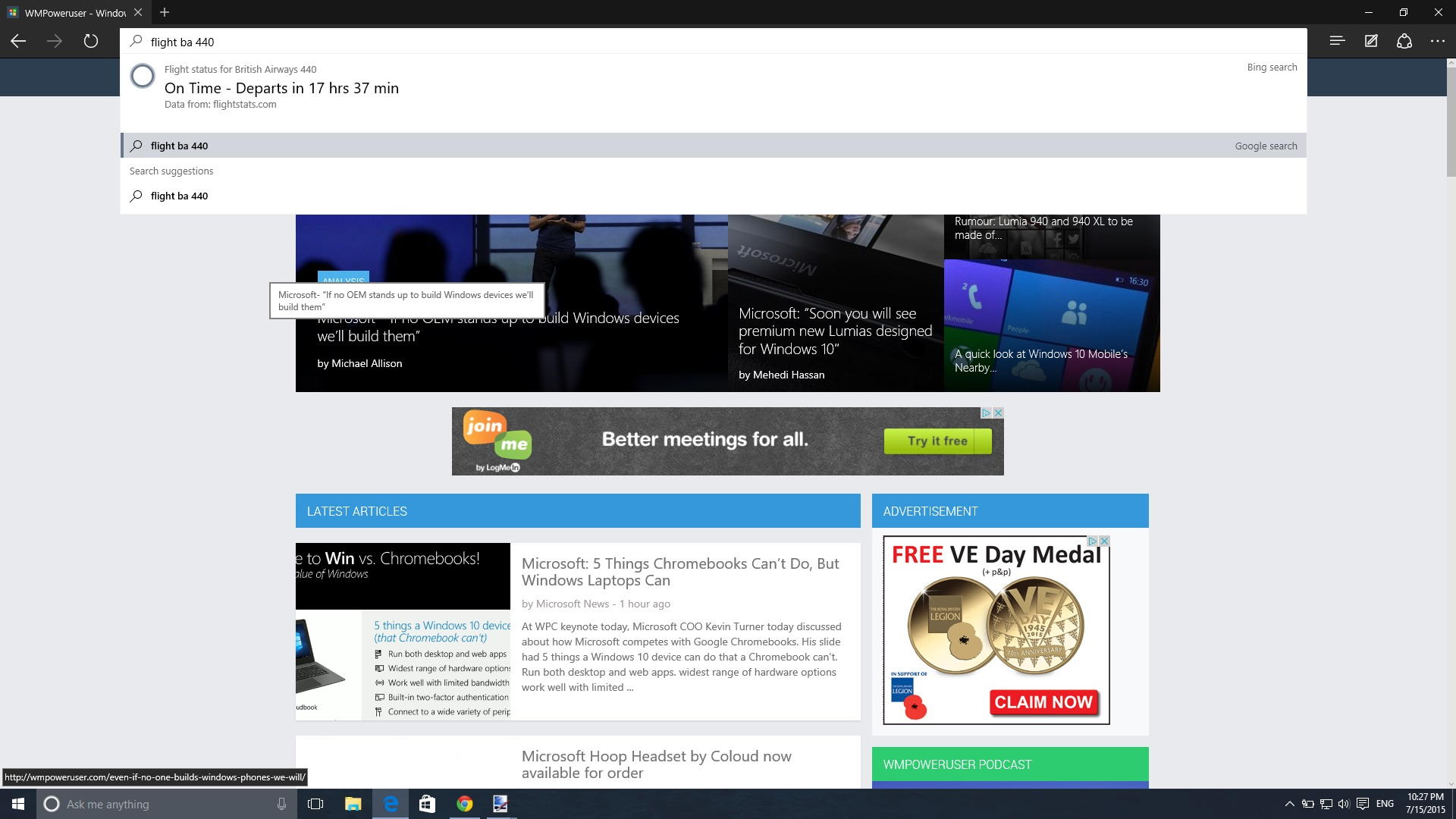 Hands-on with Windows 10 Build 10240 (RTM) 36