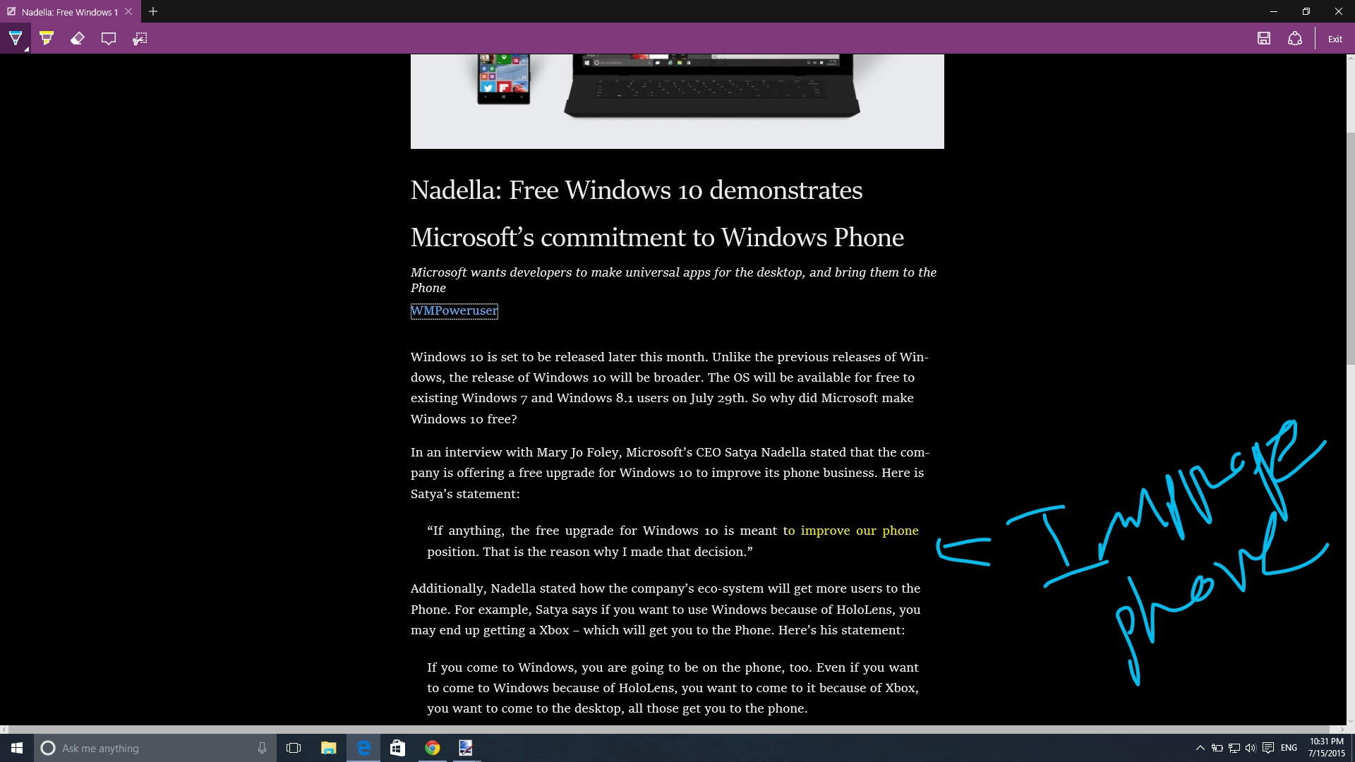 Hands-on with Windows 10 Build 10240 (RTM) 17