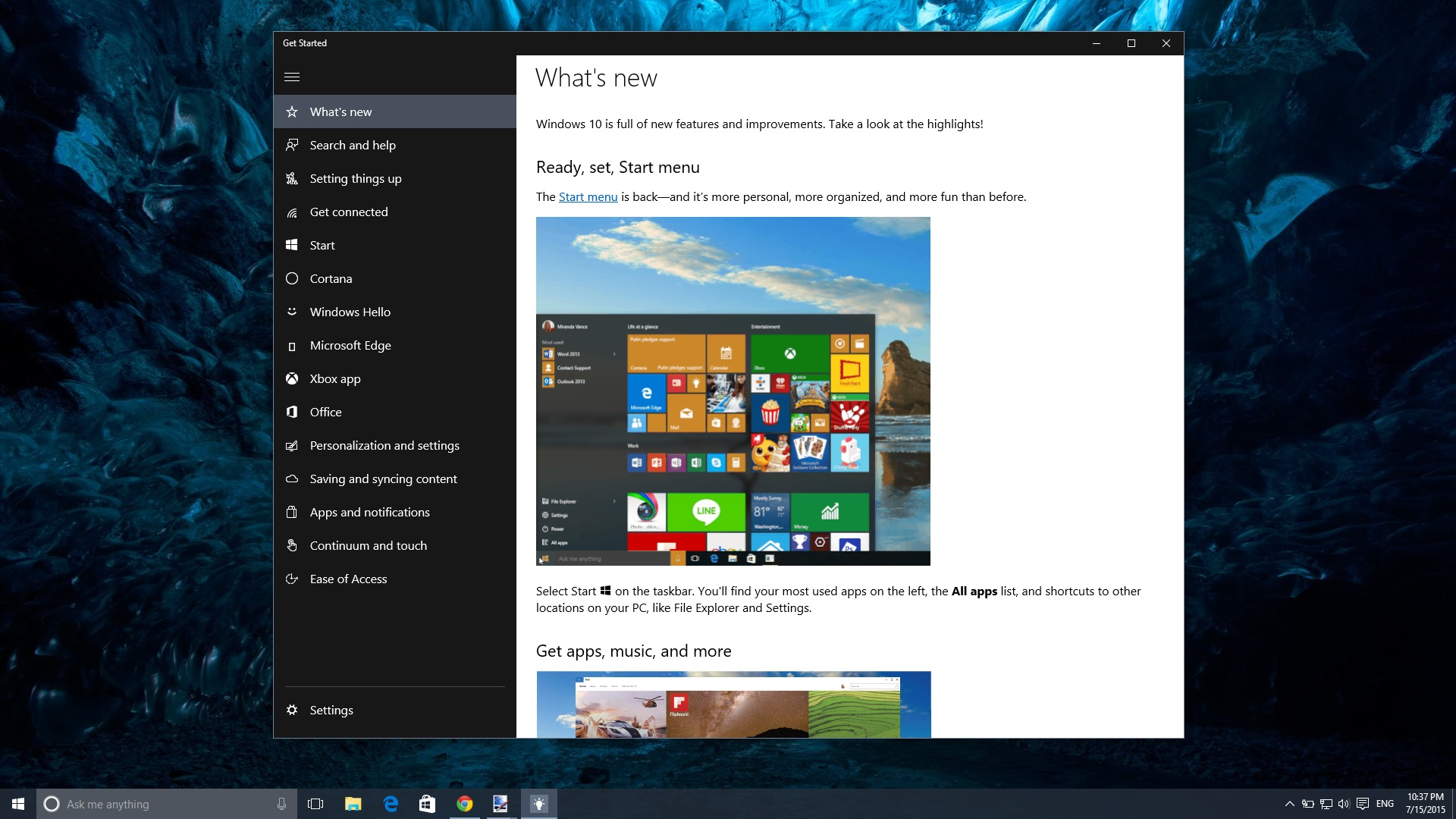 Hands-on with Windows 10 Build 10240 (RTM) 2