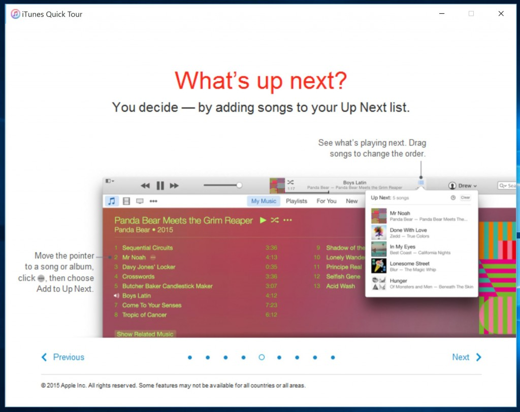 iTunes Windows 4