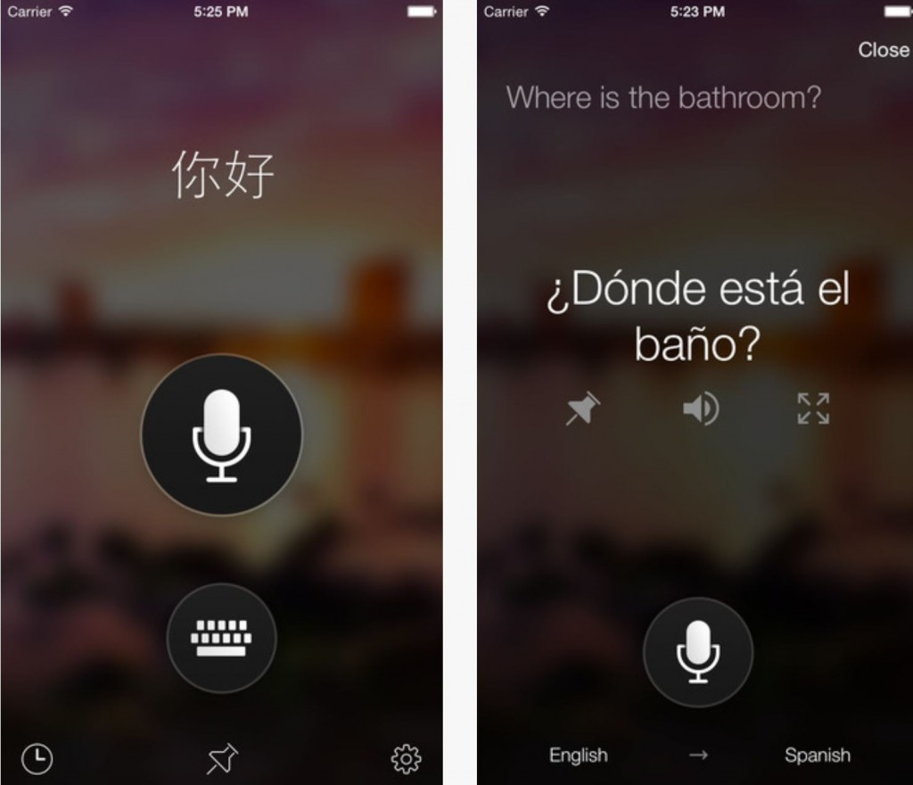 Microsoft Translator iOS And Android
