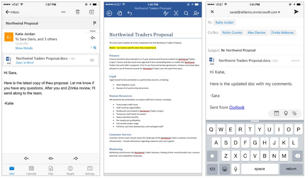 Office iOS Outlook