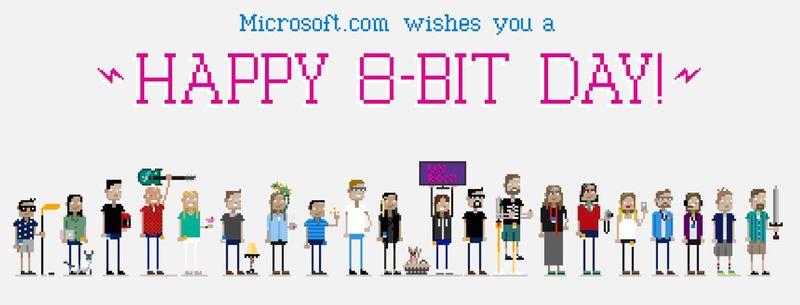Microsoft 8bit day