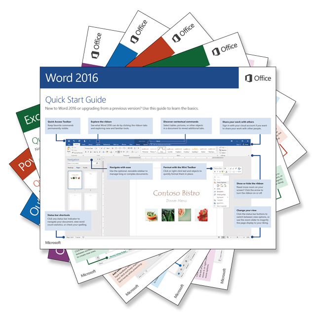 Office 2016 Quick Start Guide Download