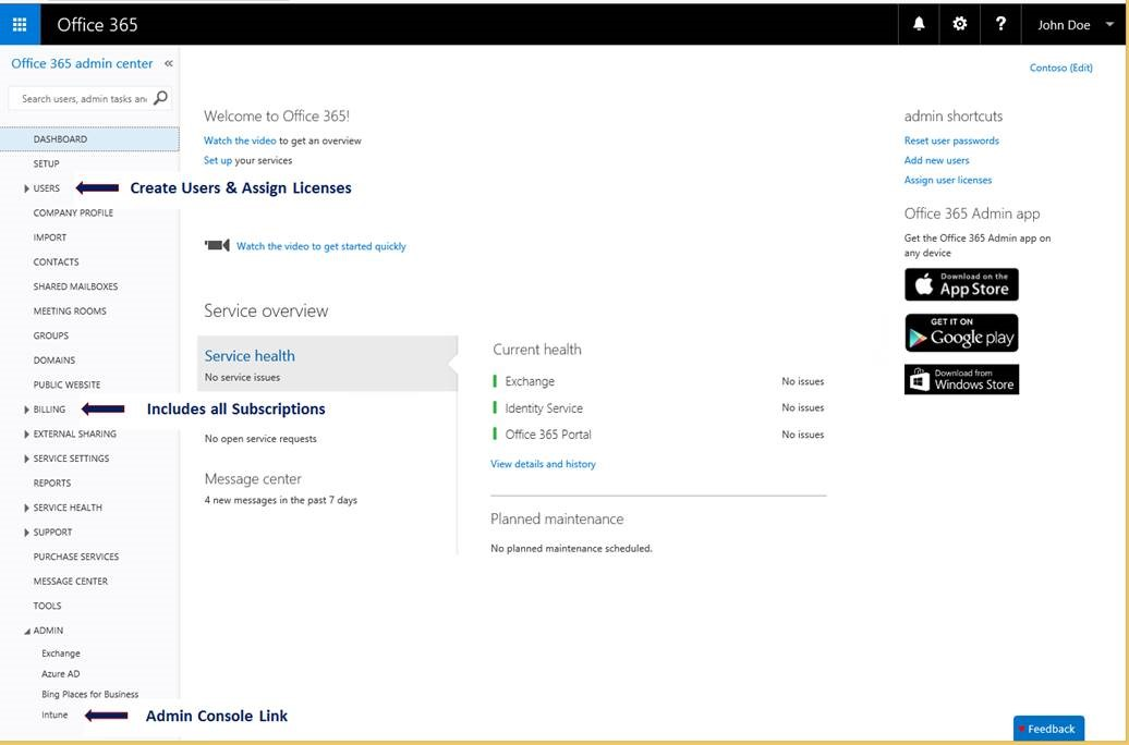 Microsoft merging the intune account portal with the office 365 management portal mspoweruser - Micrsoft office 365 login ...