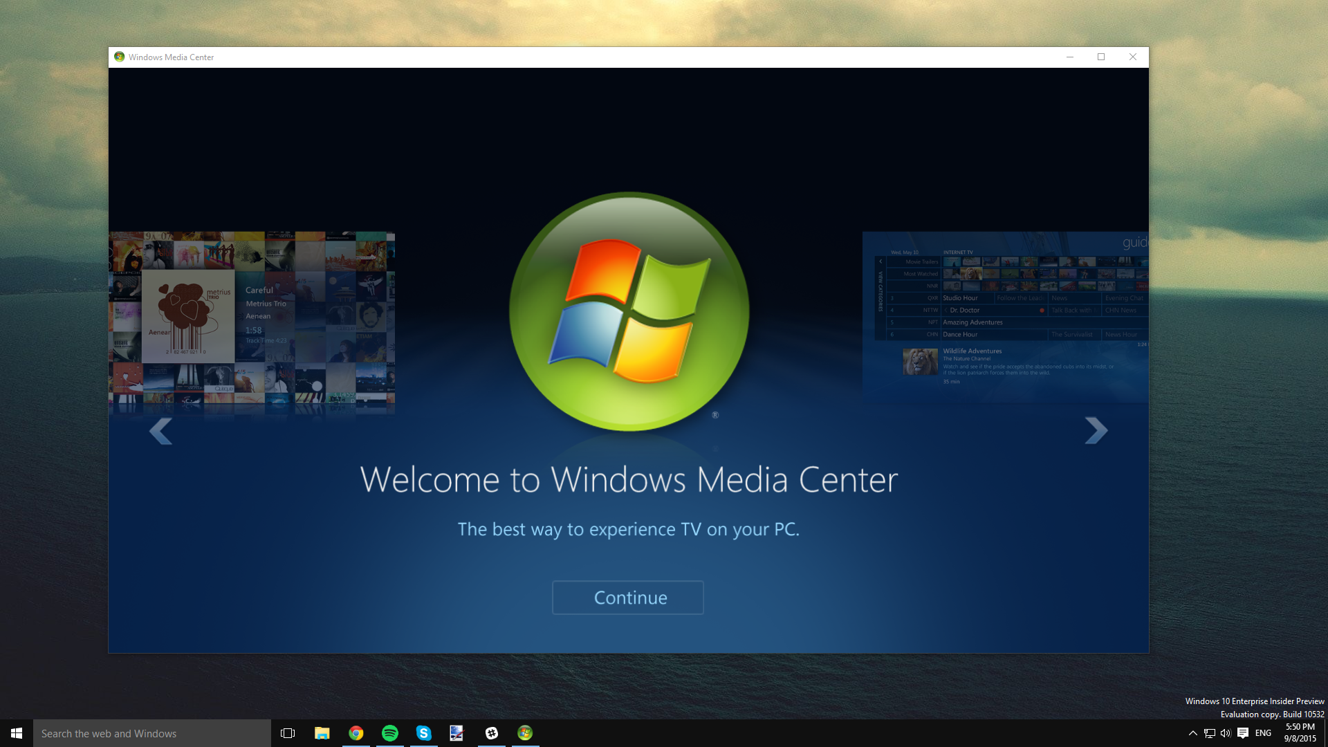 How to install Windows Media Center in Windows 10