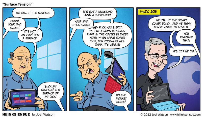 Surface iPad Comic