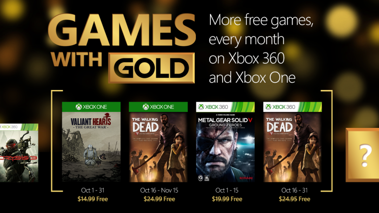 XBox Live Gold October
