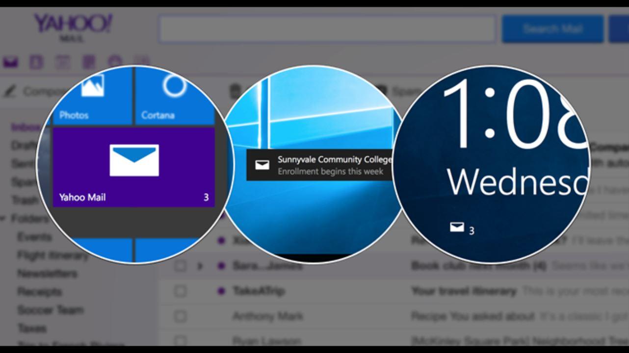 Yahoo Mail Windows 10