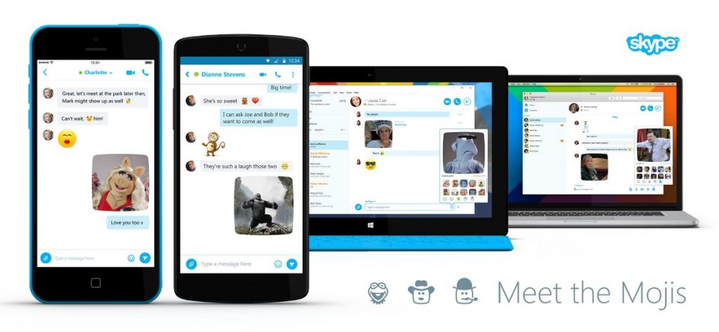 skype emojis