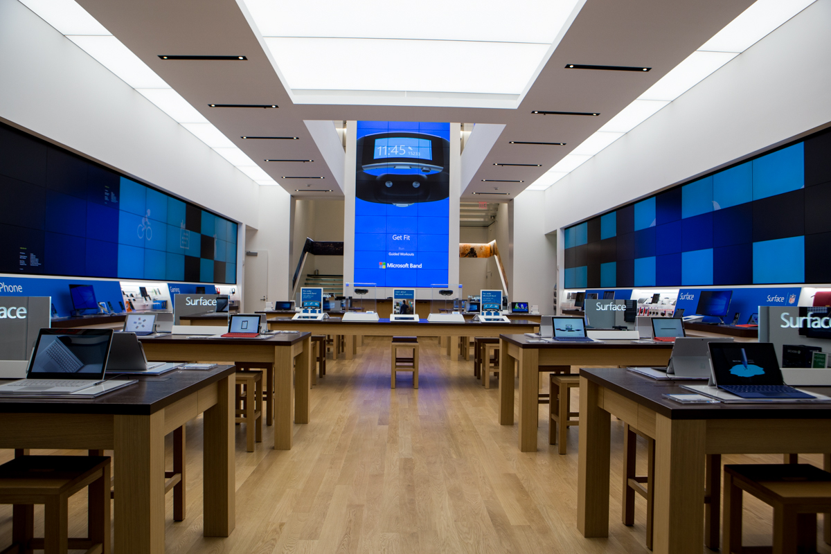Microsoft 5th Ave Store