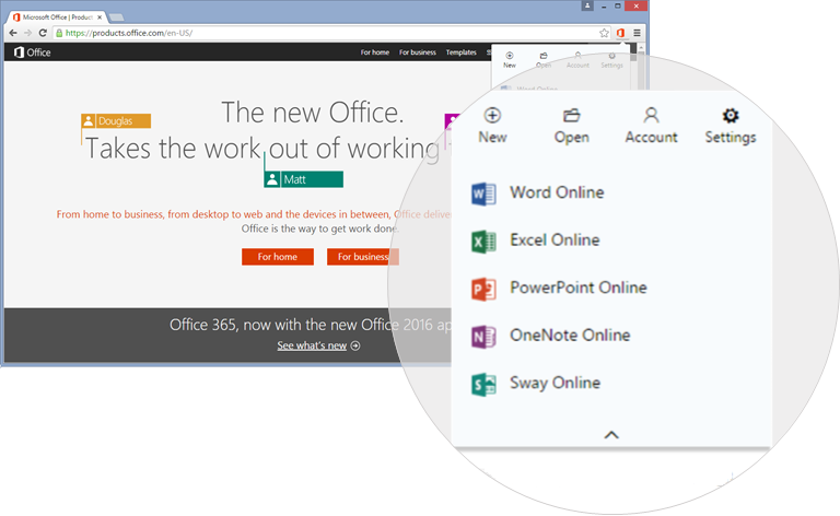 Chrome Office Extension