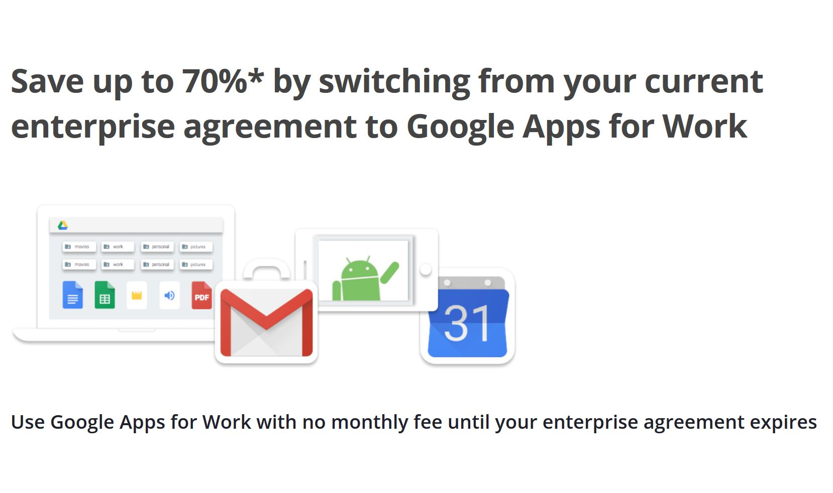Google Google For Work Will Be Available For Free To Microsoft Ea