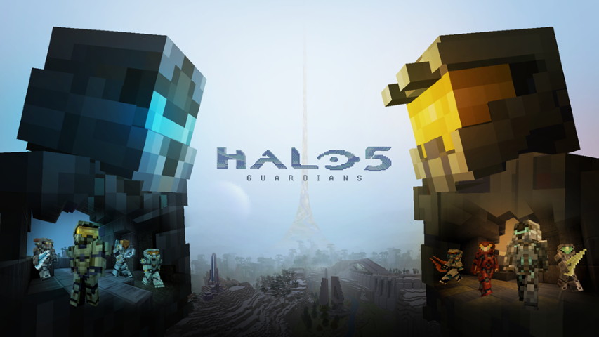 Halo 5 Guardians Minecraft (Small)