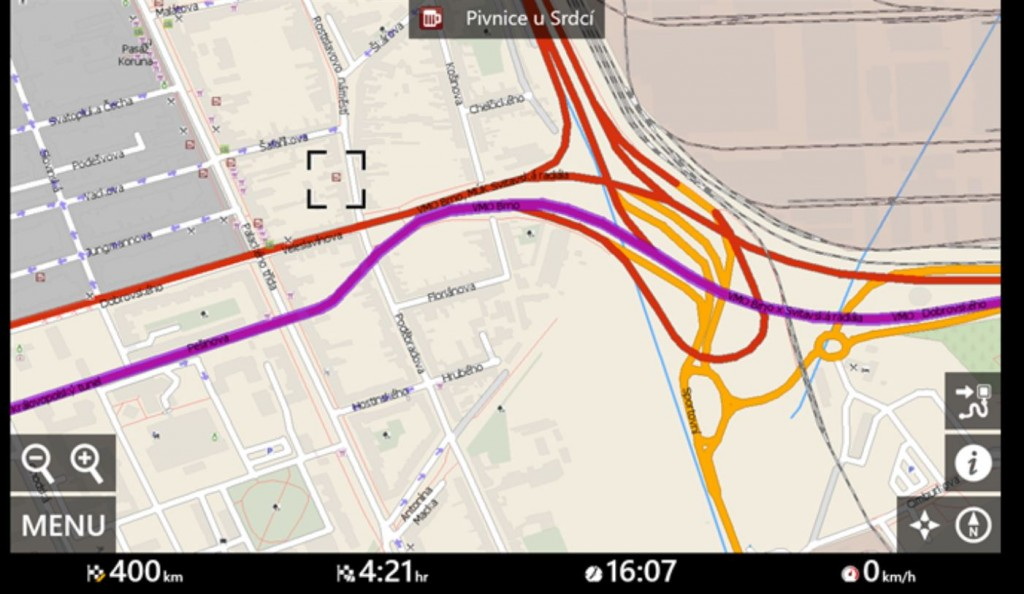 MapFactor GPS Navigation Windows 10