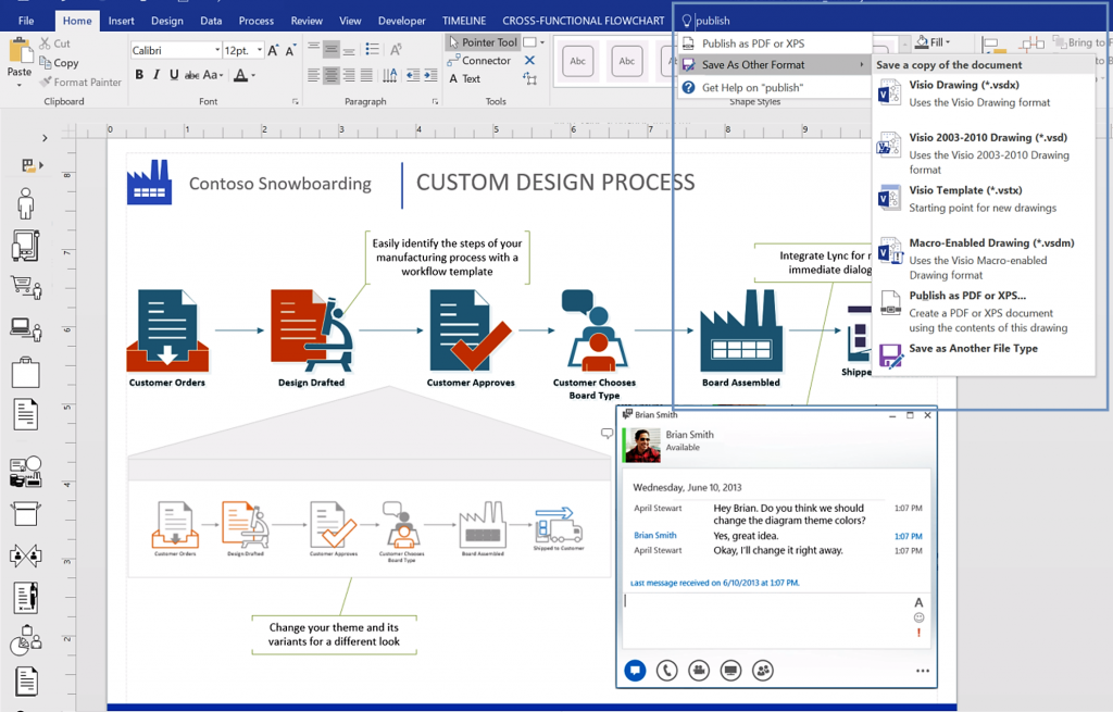 Microsoft Announces Visio 2016 With Lots Of New Features