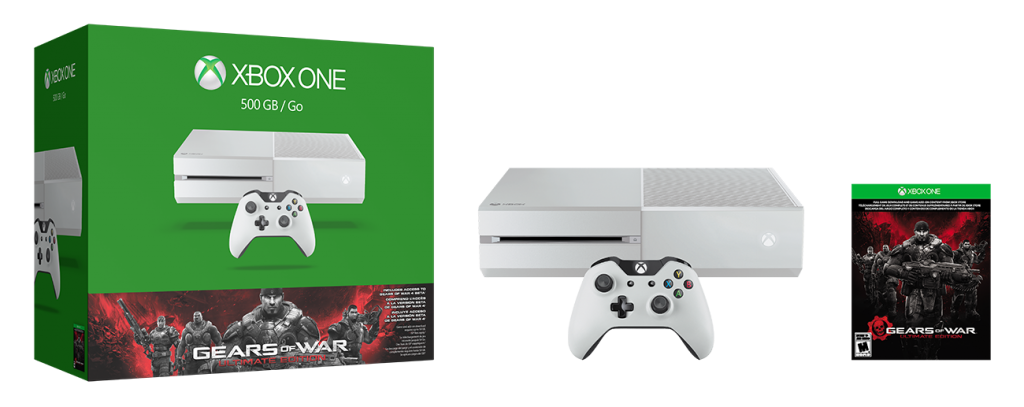 Xbox One Gears of War White