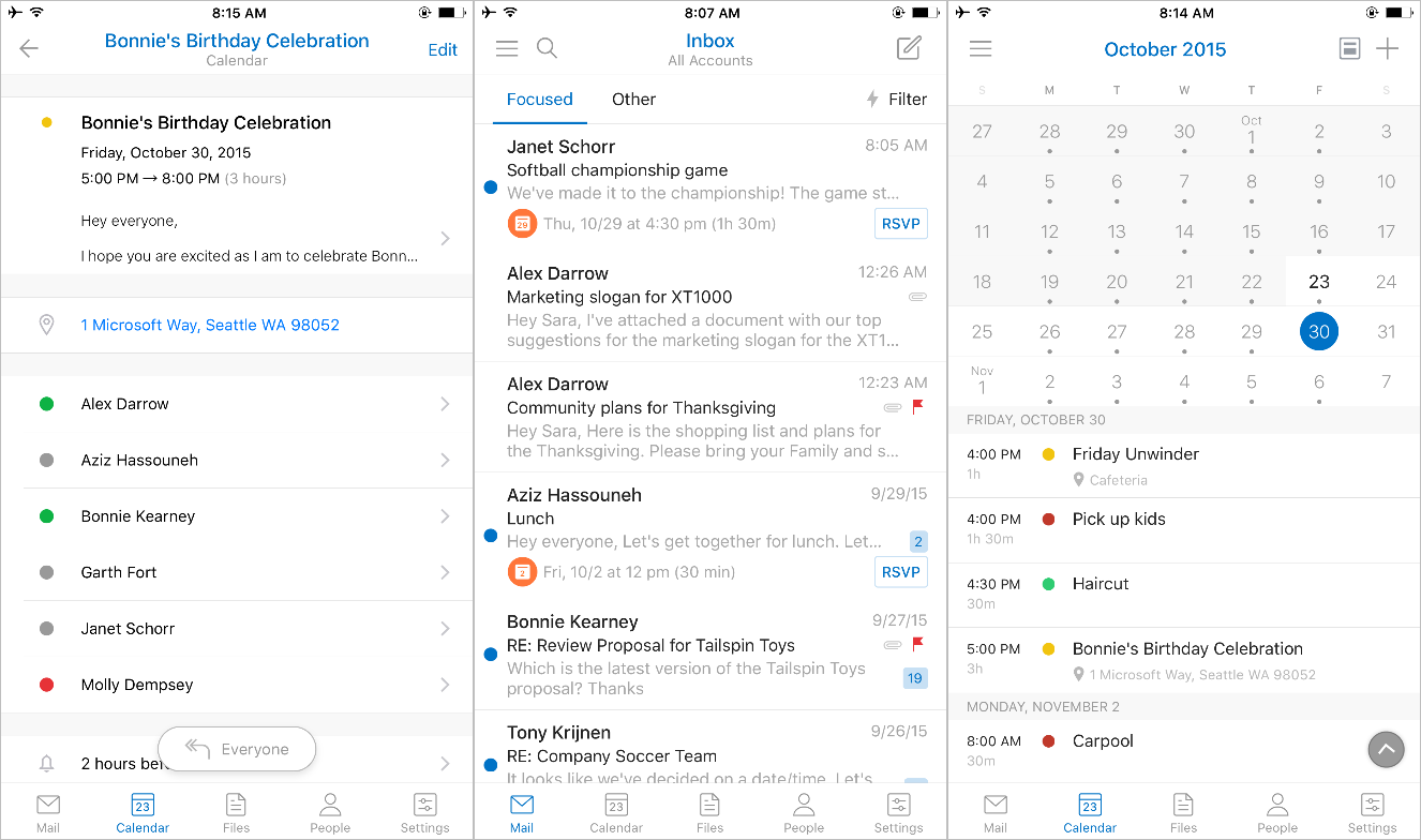 Microsoft merges Outlook and Sunrise apps on Android and iOS