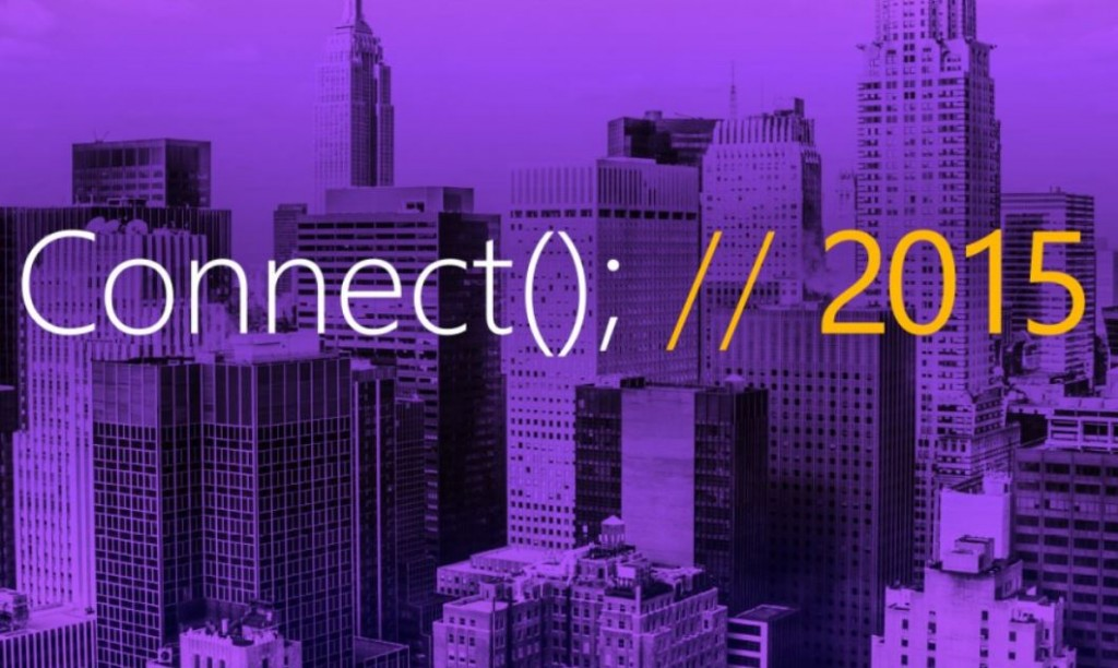 Connect 2015 Microsoft