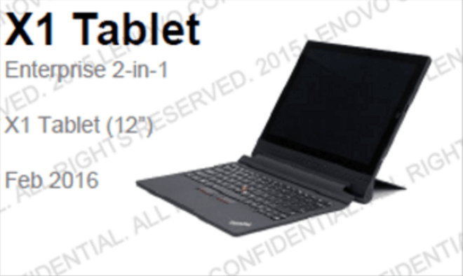 Lenovo-ThinkPad-X1 Tablet