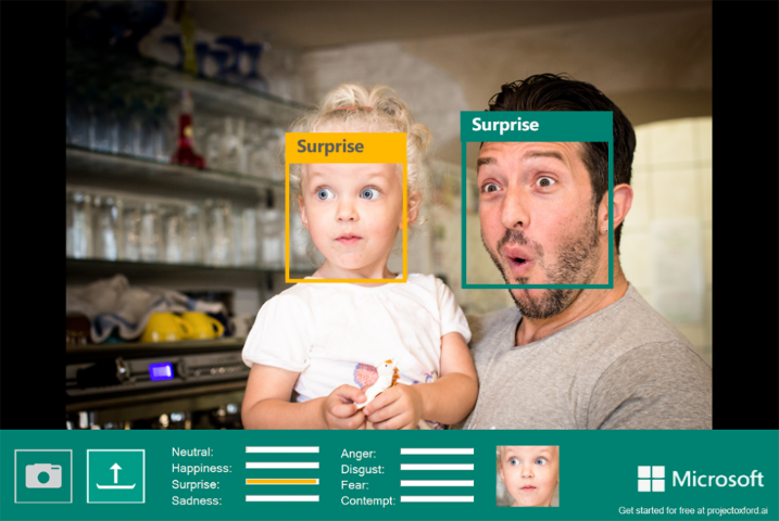 Microsoft Emotion Detection 1 (Small)