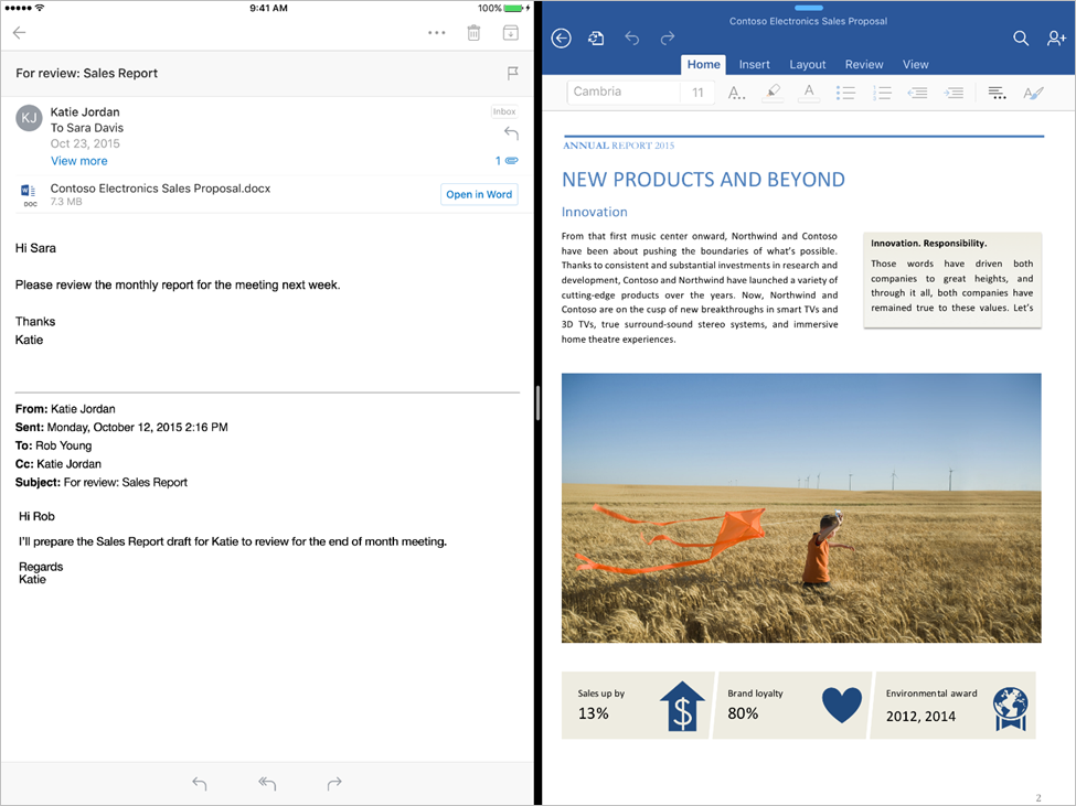 Office Apps iPad Pro