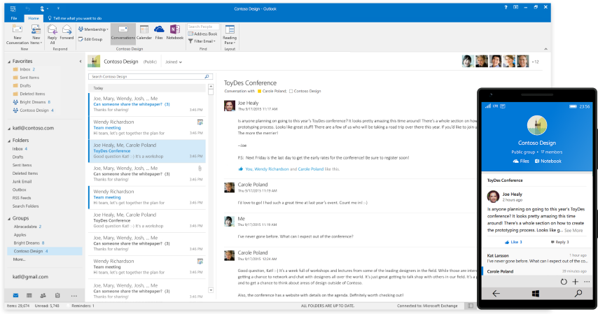 Outlook Groups (Small)