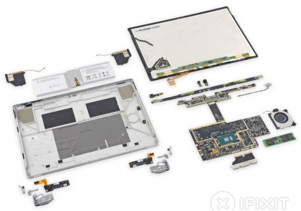 Surface Book Tear Down