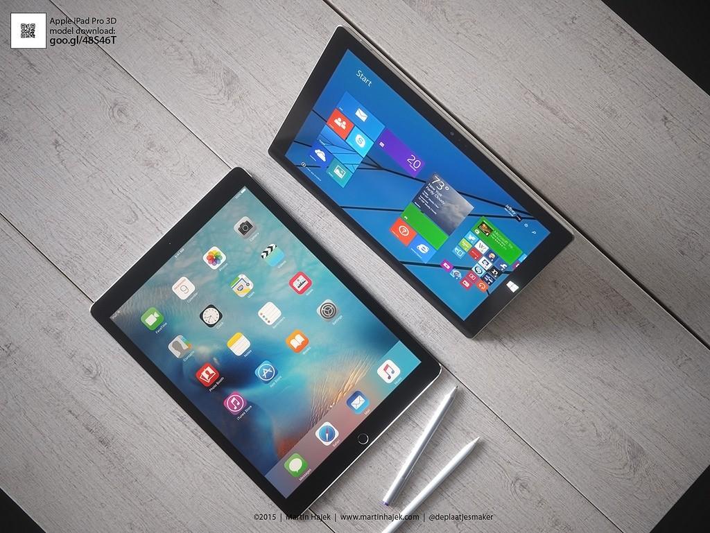 Surface Pro 4 Vs Ipad Pro