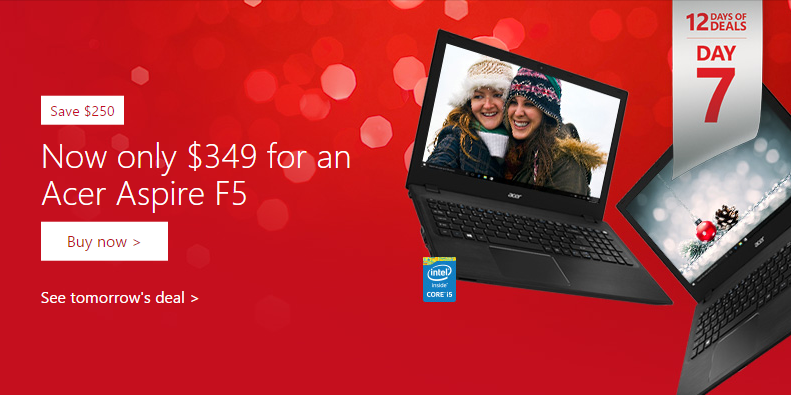 Acer Aspire Deal Microsoft Store
