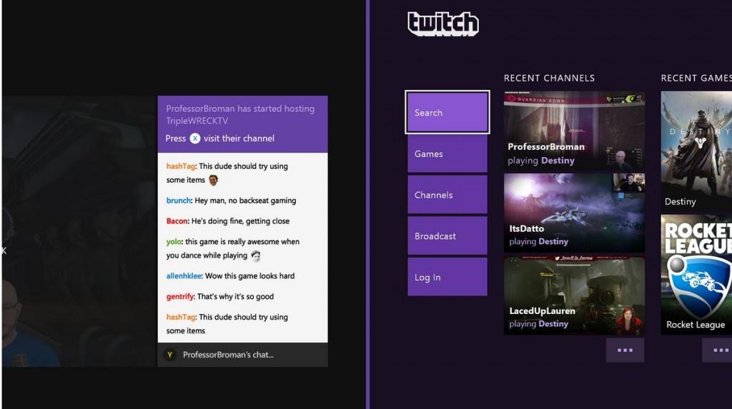 Twitch Xbox One App