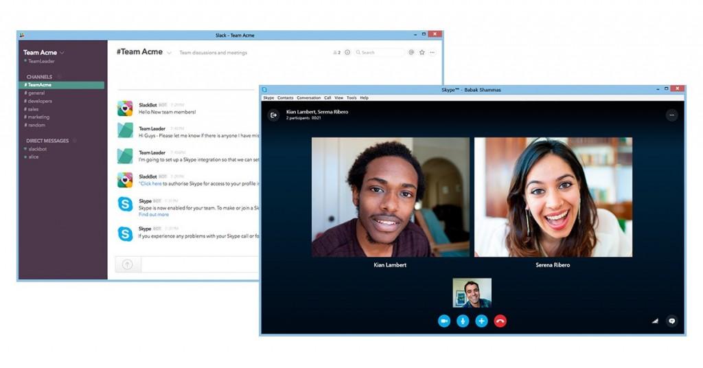 Skype slack